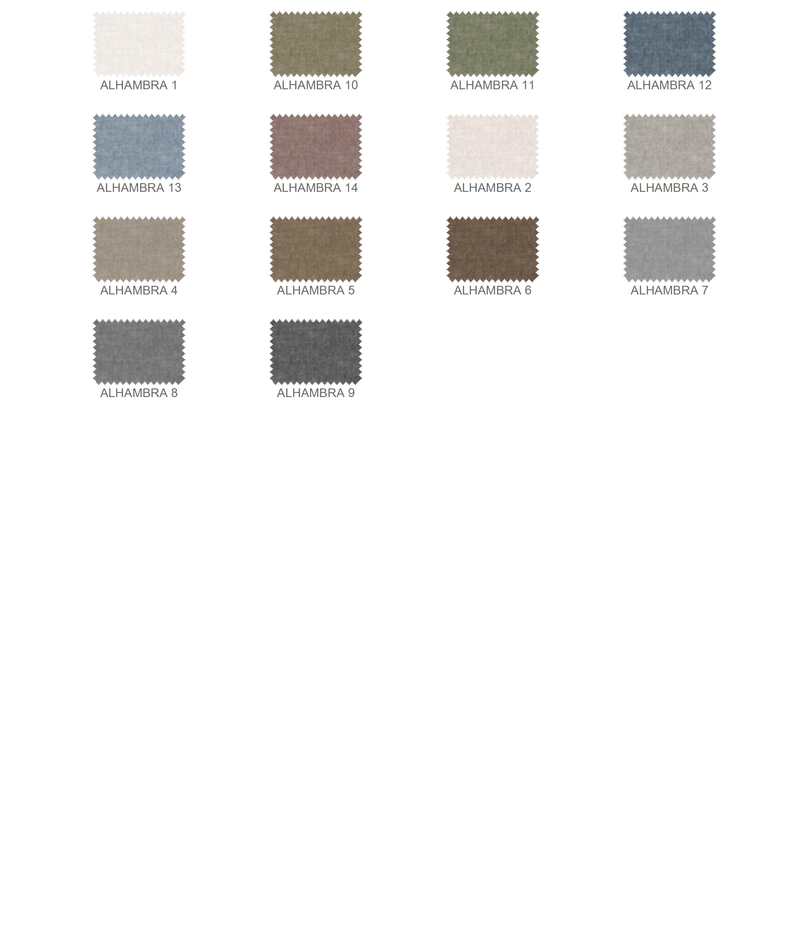 Alhambra színek