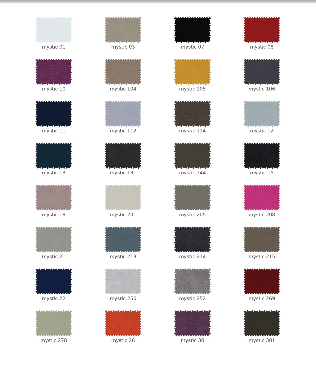 Mystic színek