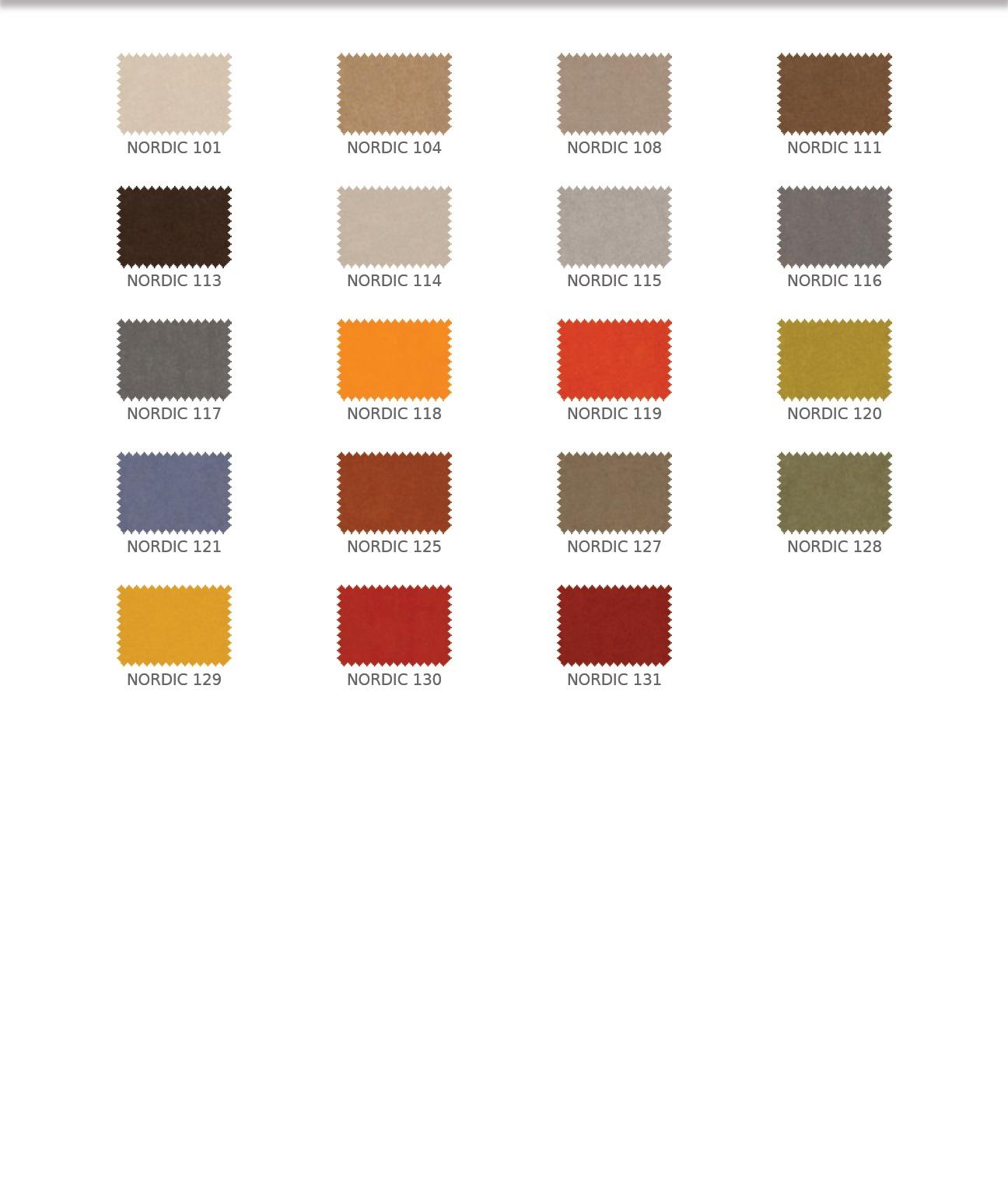 Nordic színek